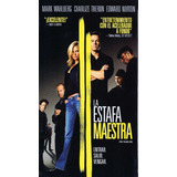 La Estafa Maestra - M. Wahlberg, C. Theron, E. Norton, Vhs