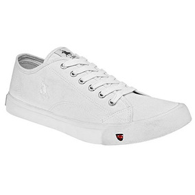 Tenis Escolar Polo Club Hombres Choclo Tex Blanco 22098 Dtt