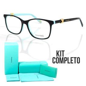 2de9e313d9c5c Tiffany Co Armação De Grau Frete Grátis - Óculos no Mercado Livre Brasil