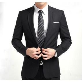 5d9ff766f2d Blazer + Camisa Slim Fit Luxo Caual Masculino Super Promocao