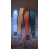 Cintas De Artes Marciales Karate,bushido,judo,taekwondo