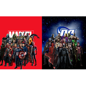 Dc Comics Vs Marvel - Série Completa (hq Digital)