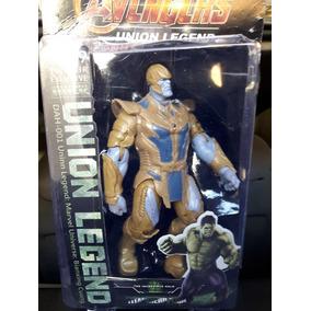 Boneco Thanos Articulado Com 17 Cm. Novo E Lacrado.