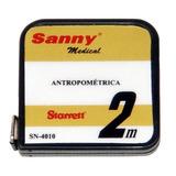 Trena Antropométrica Sanny Em Aço Para Perimetria - 2 Metros