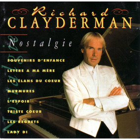 Richard Clayderman - Nostalgie / Cd Portugués Original