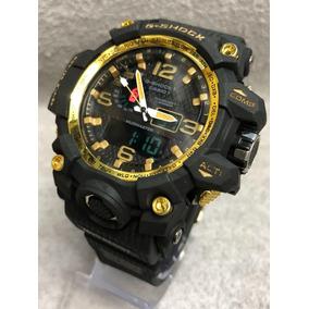cf55ca44a5b G Shock Fundo Dourado Esportivos Casio - Relógio Masculino no ...