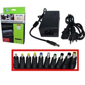 Fonte 120w Universal Bivolt Adapter Tv Not Pc Laptop Monitor