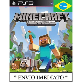 Minecraft Ps3 Edition Psn Mídia Digital Pt
