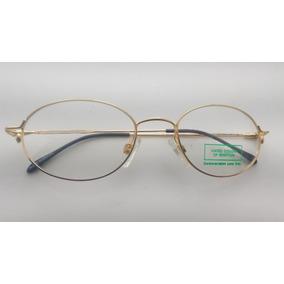 Óculos Grau  vintag Oval, Mola Hastes, Benetton F1 Ev-3401ov 7d81d13508