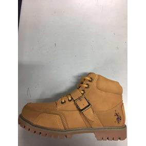 Bota Polo Amarillas - Zapatos en Mercado Libre México b62bf60bcc832