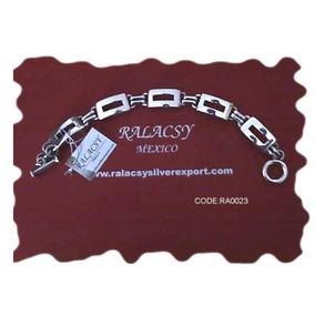 Brazalete De Plata .925 Sterling Ralacsy Silverexport