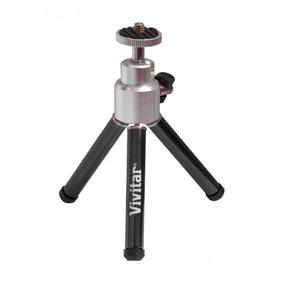 Mini Tripé Câmera Universal Até 15cm 360° Vivmpt100 Vivitar