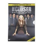 Seriado The Closer 1ª Temporada 4 Discos Dvd - Original