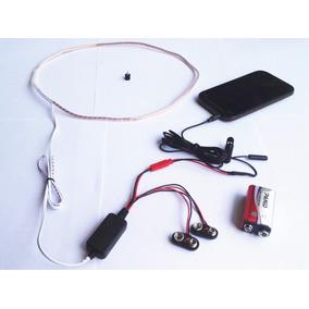 Micro Ponto Espiao Eletrônico Ear Piece O Menor