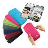 Porta Passaporte Documentos Viagem Organizador Mala Celular
