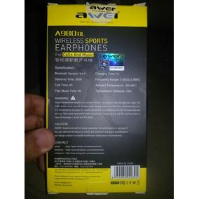 Fone Bluetooth 4 - Awei A980bl