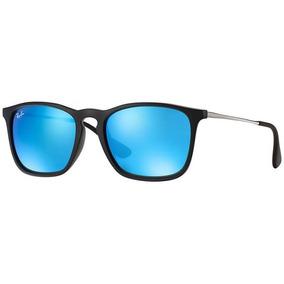 4b4398867787f Óculos Sol Ray-ban Rb4187 Chirs Original Masculino Feminino
