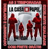 Serie La Casa De Papel (1 E 2 Temporadas) + Frete Gratis