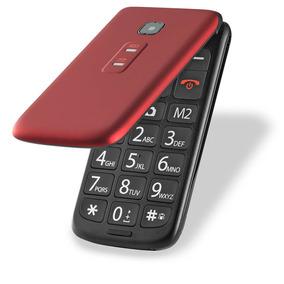 Celular Flip Vita Dual Chip Mp3 Vermelho Multilaser - P9021