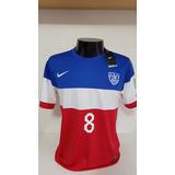 Camisa Estados Unidos Away Copa - Camisas de Futebol no Mercado ... 7eadbab23dbef