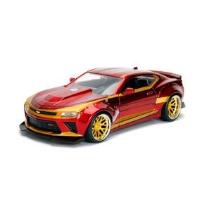 Chevrolet Camaro Iron Man Hollywood 1:24 Metal Diecast Jada