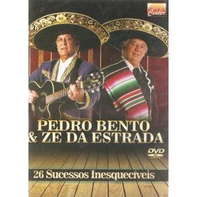 Dvd Pedro Bento & Zé Da Estrada - 26 Sucessos Inesqu + 5 Cds