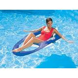 Flotador Reclinable Azul Swimways
