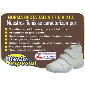 92effcff7cc Tenis Ortopedico Infantil 17.5 A 21.5