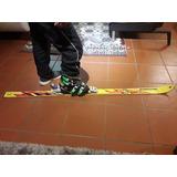 Esquís, Botas Y Bastones Usado En Perfectas Condiciones