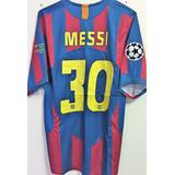 88c9ddb9b2885 Camisa Barcelona Autografada Messi no Mercado Livre Brasil