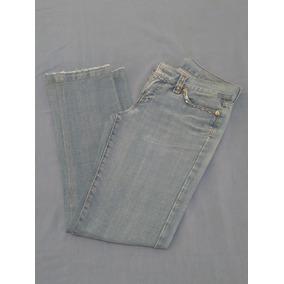 f0e11df07e Calça Jeans M.officer Capri - Usada Azul Feminina