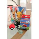 Pokémon Lets Go Eevee Poke Ball Plus Pack