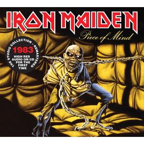 Cd Iron Maiden Piece Of Mind-(1983) Remastered Original 2018