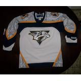 Camisa De Hockey Nashville Predators (ovechkin E Crosby)
