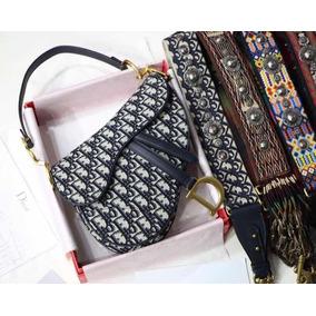 Cartera Dior Oblique Saddle Bag Grande Monogram Fotos Reales