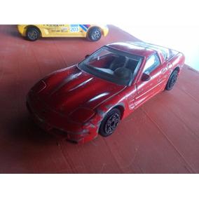 Burago 1/43 Chevrolet Corvette Hecho En Italia