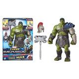 Hulk Gladiador Thor Ragnarok Interactivo Sonido Marvel 35 Cm