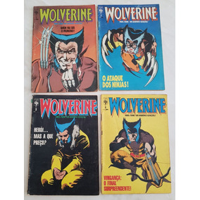 Lote Minissérie Wolverine Completa Editora Abril