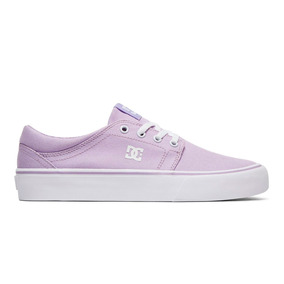 Tenis Mujer Trase Tx J Skate Dc Shoes Lila