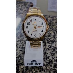 243d3cde803 Relogio Orient Folheado A Ouro - Joias e Relógios no Mercado Livre ...