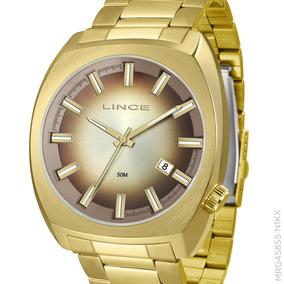 3661ae72a69 Relogio Lince Masculino Dourado - Relógio Lince Masculino no Mercado ...