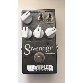 Pedal Wampler Sovereign (overdrive, Distorção)