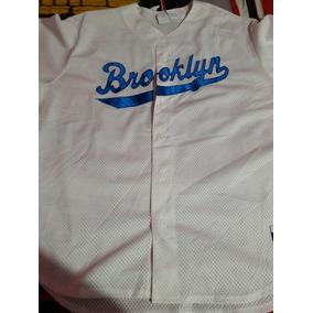 555e3ba2f9318 Jersey Majestic Mlb Brooklyn Dodgers Original De Hombre