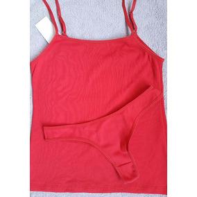 Conjunto Ropa Interior Juvenil Camiseta Y Colaless Lenceria ... 7b166968cdea