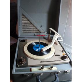 Tocadiscos Portatil Winco High Fidelity De Luxe Audio Vintag