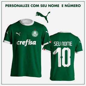 Camisas Palmeiras 2019 Puma Masculina Torcedor Personaliza 7da0aa7b8a73e