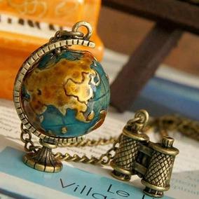 Collar Mundo - Mundi - Globo Terraqueo