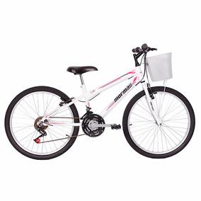 Bicicleta Aro 24 Mountain Bike Fantasy Mormaii Fem. C  Cesta 1e6c78569b