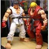 Street Fighter Iv Kit Com Os 2 Ken E Ryu Pronta Entrega