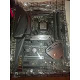 Combo Elite Asus Rog Maximus Hero X + I7 8700 Seminueva!